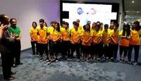 Đội tuyển nữ Việt Nam có mặt tại Indonesia, chuẩn bị cho Asiad 2018