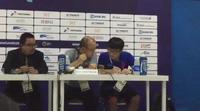 HLV Park Hang Seo phát biểu trong buổi họp báo sau trận Olympic Việt Nam-Olympic Pakistan