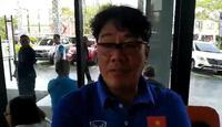 Trưởng đoàn Olympic Việt Nam tiết lộ thông tin đối thủ Nhật Bản