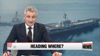 Nhiều loạn thông tin nhóm tàu chiến Mỹ tiến về bán đảo Triều Tiên