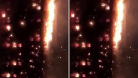 Tháp 24 tầng bốc cháy dữ dội ở Anh, ít nhất 79 người chết