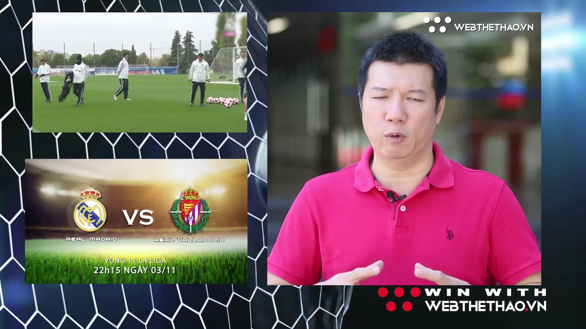 BLV Quang Huy và nhà báo Minh Hải nhận định và dự đoán trận Real Madrid vs Valladolid (3W - Win With Webthethao)