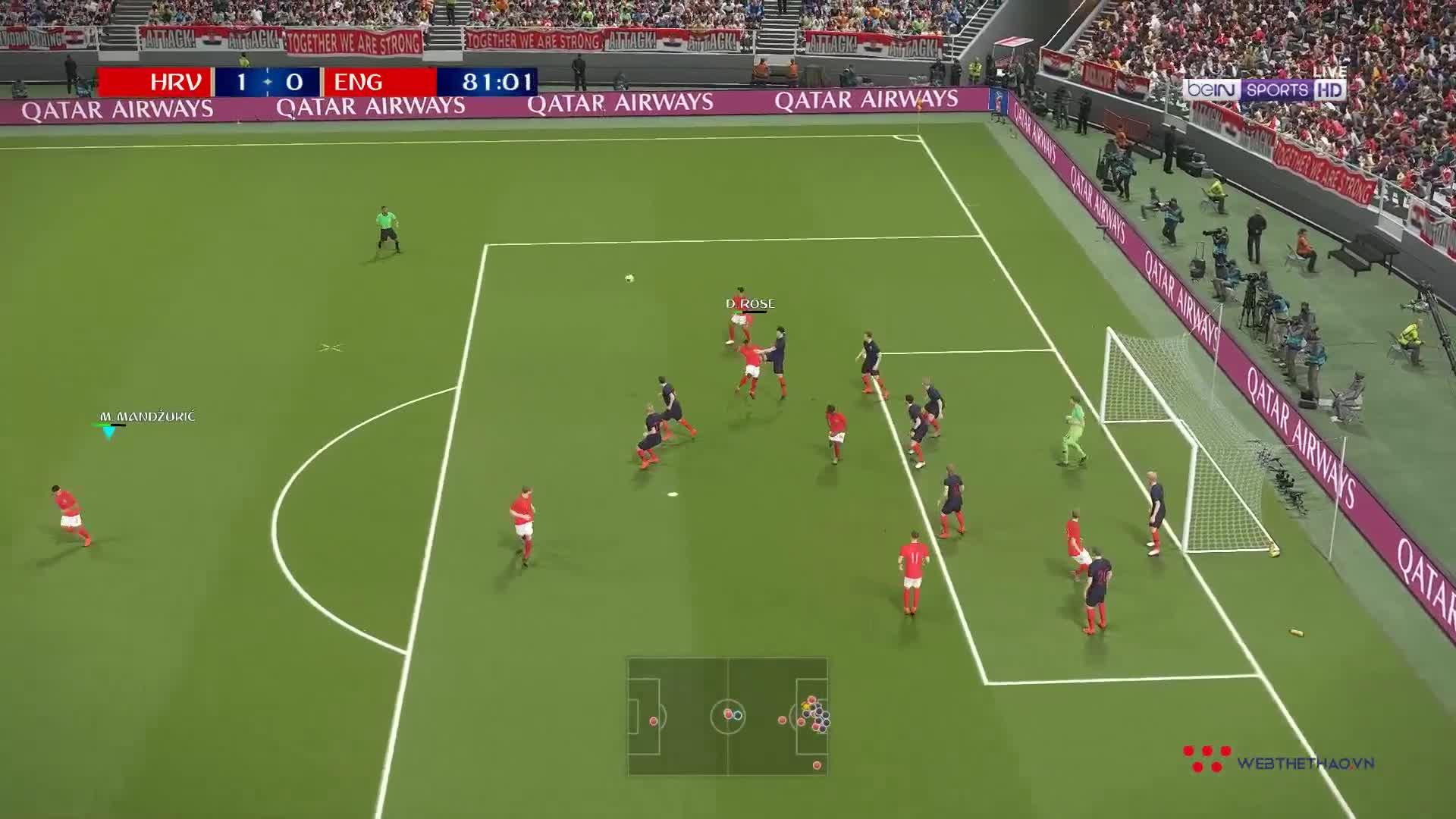 PES WORLD CUP | #40 | MODRIC TỎA SÁNG, CROATIA ĐIỀN TÊN MÌNH VÀO CHUNG KẾT