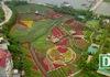 Ngắm nhìn khu vườn 70.000 m2 rực rỡ sắc hoa ở Hà Nội