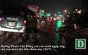 Chiều tối cuối tuần, giao thông khó khăn sau một trận mưa