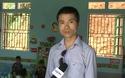 Nhà báo Phạm Tuấn Anh, Phó Tổng Biên tập báo Dân trí chia sẻ niềm vui trong ngày khánh thành phòng học Dân trí tại điểm trường Na Quang