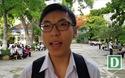 Thí sinh ở Nha Trang chia sẻ trước giờ thi môn Ngữ Văn