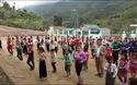 Ấn tượng với hàng trăm học sinh tiểu học biên giới xứ Thanh cùng nhảy Cha cha cha