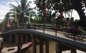 Quang cảnh khánh thành cầu Dân trí thứ 14 tại Trà Vinh