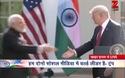 Tổng thống Mỹ ôm thân mật Thủ tướng Ấn Độ trong lần đầu gặp mặt