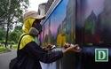 """Vẽ """"áo mới"""" cho những bức tường cũ kỹ ở Sài Gòn"""