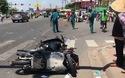 Xe khách vượt đèn đỏ tông hàng loạt xe máy, nhiều người bị thương