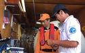 Hiện trường tìm kiếm các thuyền viên mất tích của tàu Hải Thành 26