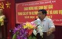 Chủ tịch UBND tỉnh Nghệ An phát biểu trong lễ đón và chào mừng học sinh đạt giải trong các kỳ thi Olympic