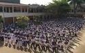 """Học sinh gia Lai đồng diễn flashmob """"Bống bống bang bang"""""""