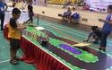 Học sinh Hà Nội thi điều khiển robot chạy theo đường đua khúc khuỷu