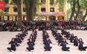 """Màn nhảy dân vũ """"cực chất"""" của học sinh Phan Đình Phùng"""