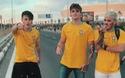 Alex Mapeli và bạn bè đến Nga để cổ vũ cho đội tuyển Brazil tham gia World Cup 2018