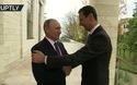 Tổng thống Syria tặng gì cho ông Putin trong cuộc gặp thân mật?