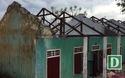 Nhiều phòng học tại Quảng Bình hư hỏng, nguy cơ đổ sập sau bão số 10