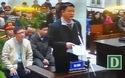 Ông Đinh La Thăng nói lời sau cùng trước tòa