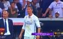 C.Ronaldo giận dữ sau khi Messi ghi bàn