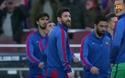 CĐV Barcelona tri ân Messi trước trận đấu