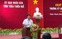 Ông Hoàng Ngọc Khanh, Chánh Văn phòng UBND tỉnh Thừa Thiên Huế trả lời báo Dân trí vụ cán bộ xã Dương Hòa đi nghỉ mát trong giờ làm việc