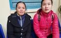 Chị Phan Thị Thanh Hạnh khóc cảm ơn báo Dân trí và các nhà hảo tâm