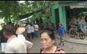 Thực nghiệm điều tra hiện trường vụ án giết người ở hồ Ngự Hà, đường Trần Huy Liệu, phường Phú Hòa, TP Huế.