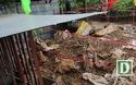 Hình ảnh 6 tấn đầu đạn đại liên, lựu đạn chất đống trong vườn nhà dân