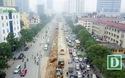 Công trường xén dải phân cách, mở rộng đường đẹp nhất Việt Nam