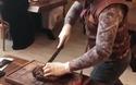 Ngưỡng mộ trước những kỹ năng dùng dao đáng kinh ngạc