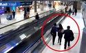 Clip cô gái bị bắt cóc giữa sân bay đông người khiến dân mạng cảm thấy sốc