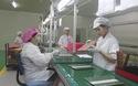 Lao động tại các nhà máy tham gia chương trình tư vấn cải tiến DN do các chuyên gia của Samsung đến từ Hàn Quốc hỗ trợ được nâng cao tay nghề hơn. (Video: Hồng Vân)