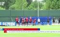 Tuyển Anh tập luyện chuẩn bị thi đấu với Tunisia