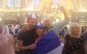 Người Pháp tại Moscow sung sướng với chức vô địch World Cup 2018