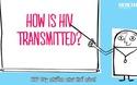 HIV lây nhiễm như thế nào?