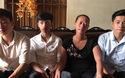 3 anh em sinh ba đỗ Trường sĩ quan Thông tin