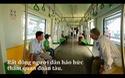 Dân đổ xô ngắm tàu đường sắt trên cao đầu tiên của Việt Nam