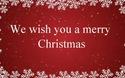 Chúc bạn một Giáng Sinh vui vẻ!