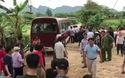 Xe đưa các chiến sĩ CSCĐ rời khỏi thôn Hoành