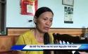 Bà Đỗ Thị Ninh mẹ thí sinh Nguyễn Viết Kiên bày tỏ mong muốn con được xét tuyển vào Học viện Quân y