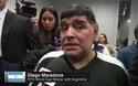 Maradona thất vọng về màn trình diễn của Argentina