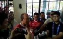 HLV Park Hang Seo chia sẻ với báo giới về đối thủ Olympic Nepal