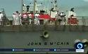 Tàu chiến Mỹ va chạm tàu hàng gần eo biển Malacca