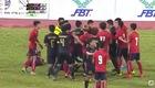 Thái Lan - Campuchia ẩu đả cuối hiệp 1
