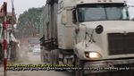 """Xe siêu trọng tải """" hoành hành"""" trên tuyến đường Hoàng Tăng Bí"""