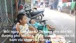 Xót cảnh 3 mẹ con tật nguyền bán vé số mưu sinh giữa Sài Gòn