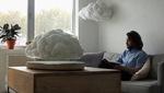 Trang trí phòng khách bay bổng cùng những đám mây nhân tạo hấp dẫn